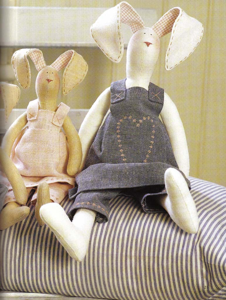Заяц тильда своими руками